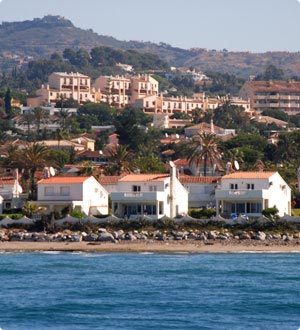 Marbella beach front