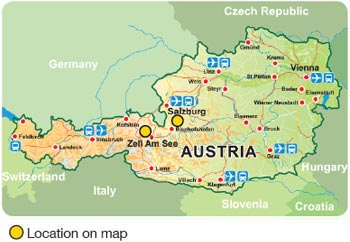 Heritage Resorts Hotels Affiliated Resorts Austrian Resorts - Map of austria cities
